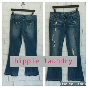 Hippie Laundry flare leg jeans, like new